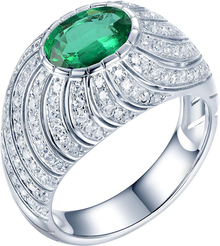 Lanmi 14K White Gold Natural Emerald Engagement D Rings Minneapolis San Antonio Mall Mall Sapphire