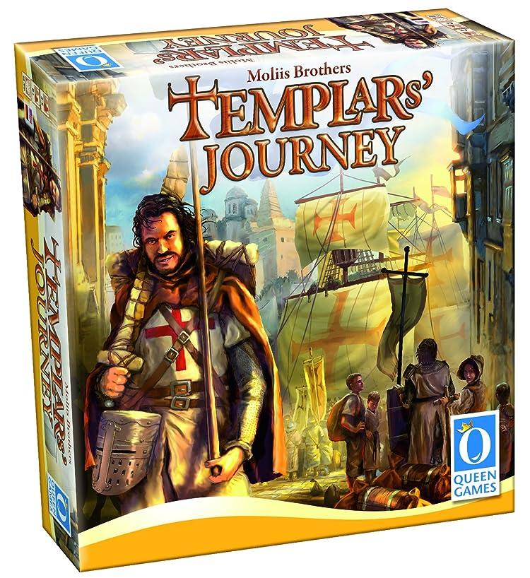 Queen Games Templars' Journey Board Game