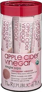 Sponsored Ad - REPUBLIC OF TEA Organic Cran Hbscs Apl Cdr Vinegar Sips, 14 CT