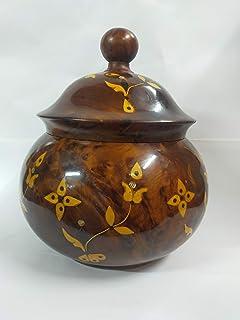 Scatola di gioielli di legno di Thuja, scatola di legno per la decorazione, scatola di stoccaggio dei gioielli, scatola di...