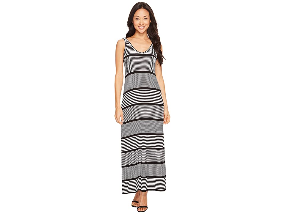 Karen Kane Alana Maxi Dress (Stripe) Women