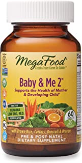 Mega Food Megafood Baby y Me 2. principales nutrientes