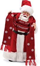 Department 56 Possible Dream Bundled Up Santa Figurine, 15-Inch Height