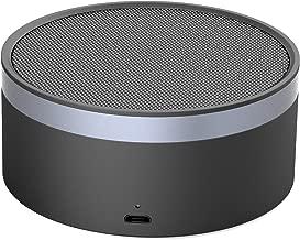 Juarez JAB700 Super Bass Mini CNC Aluminium Bluetooth Speaker With Microphone (Black & Grey)