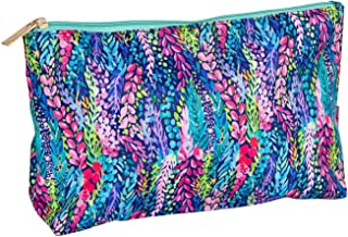 Mary Square Wisteria Waves Sidekick Travel Pouch