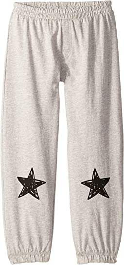 Soft Cotton Jersey Lounge Pants w/ Single Star on Leg (Toddler/Little Kids)