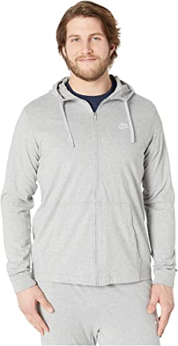Big & Tall NSW Club Jersey Full Zip Hoodie