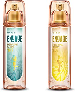 Engage W3 Perfume Spray For Women, 120ml and Engage W4 Perfume Spray For Women, 120ml