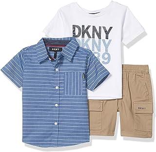 DKNY Baby Girls 2 Piece Super Star T-Shirt and Legging Set