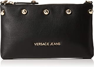 EE3VSBPC1 E899 Black Wallet on chain for Womens