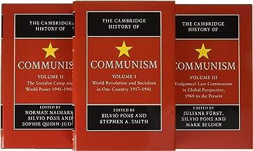 The Cambridge History of Communism 3 Volume Hardback Set