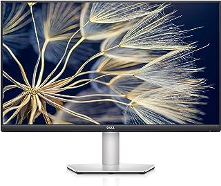 """DELL S2721DS 27"""""""" 2K QHD, IPS Ultra-Thin Bezel Monitor, AMD FreeSync, HDMI, DisplayPort, VESA Certified, Platinum Silver"""