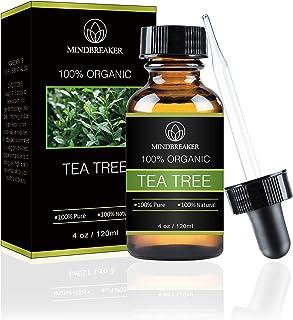 Tea Tree Essential Oil 100% puro y natural grado terapéutico: el mejor paquete de regalo para hombres y mujeres 120ml (4 oz)