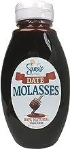 Sana's Kitchen Artisan 100% Pure DATE Molasses, USDA organic *unsulphured* Squeeze Bottle   Non-GMO, Nut-Free, Vegan, Paleo, Gluten-Free, NO refined Sugars, BPA Free Jar, All Natural