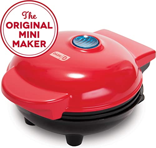 Dash Mini Maker: The Mini Waffle Maker Machine for Individual Waffles, Paninis, Hash browns, & other on the go Breakf...