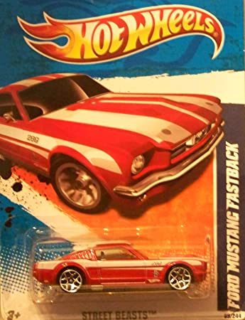 2011 HOT WHEELS STREET BEASTS  FORD MUSTANG FASTBACK