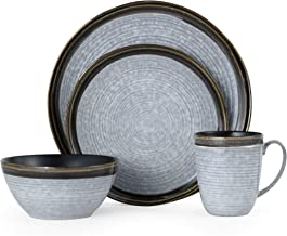 Mikasa 5256315 Willa Brown 16-Piece Dinnerware Set