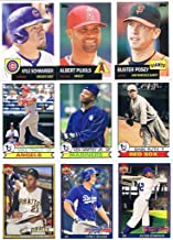 2016 Topps Archives Series MLB Baseball Complete Mint 300 Card Set Loaded with Stars, Rookies and Hall of Famers Babe Ruth, Sandy Koufax, Mike Trout plus