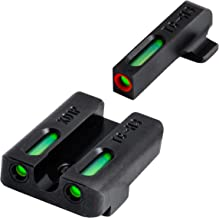 TRUGLO Pro SF XD Set Tritium/Fiber-Optic Day/Night Sight, Orange