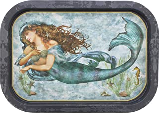 Timeless by Design Under The Sea Metal Mermaid Serving Tray