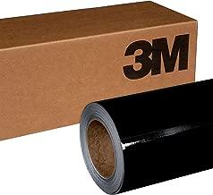 3M 1080 G212 Gloss Black Metallic 5ft x 1ft (5 Sq/ft) Car Wrap Vinyl Film