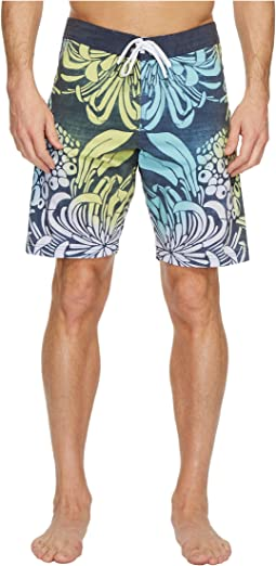 VISSLA - Bloom Bay Washed Four-Way Stretch Boardshorts 20