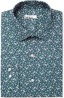 Mens Floral Stretch Dress Shirt