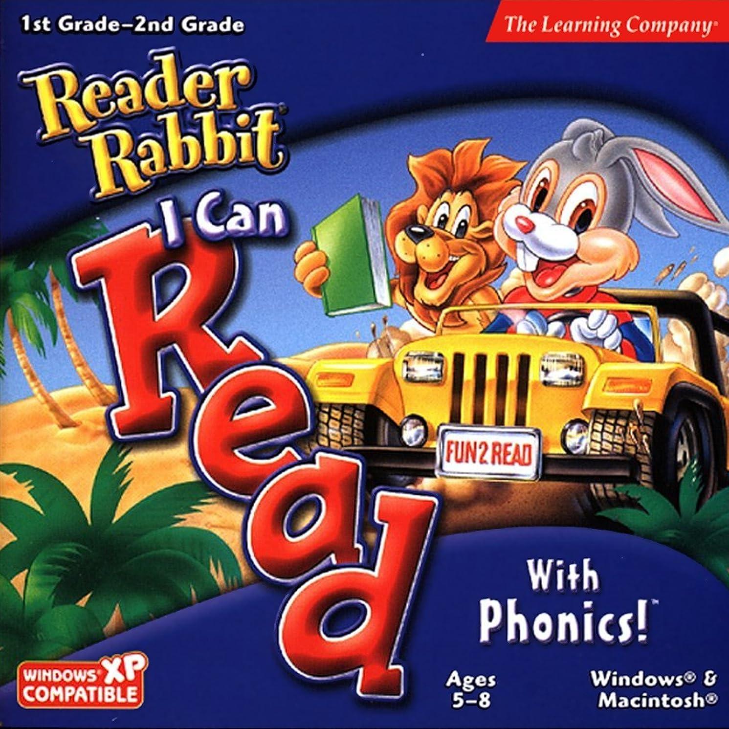 すばらしいですソーセージ開業医Reader Rabbit I Can Read with Phonics! Ages 5-8