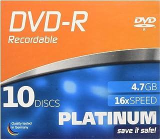 PLATINUM 102567DVD - R Blank Discs 16x 4,7GB 10er Slimcase