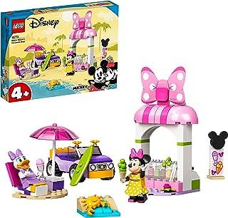 LEGO 10773 Disney Mickey and Friends Minnie Mouse ijssalon, Peuter Speelgoed Voor Kinderen van 4 Jaar en Ouder