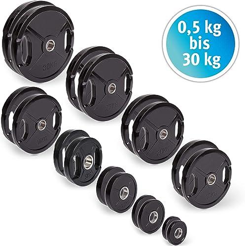 Hantelscheiben aus 100/% Eisen 0,5kg 1,25kg 2,5kg 5kg 10kg 20kg Hantel Gewicht