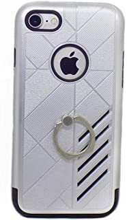 Fashion Case Apple iPhone 7 Cover - Black and Silver