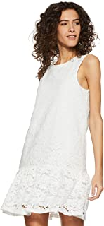 VERO MODA Women's Cotton A-Line Dress