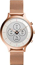 Fossil Women's Charter Hybrid Smartwatch HR with Always-On Readout Display, Heart..
