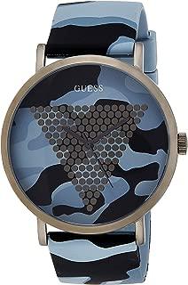 Guess Analog Grey Dial Men's Watch-W1161G3