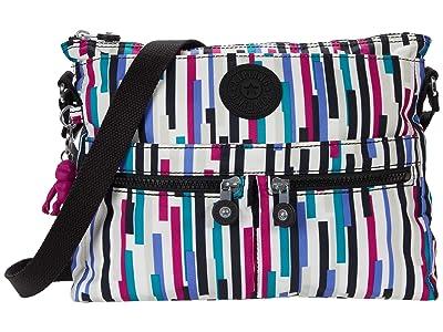 Kipling New Angie Crossbody Bag (Urban Stripe) Handbags