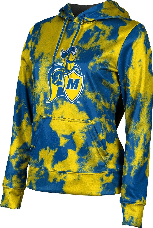 ProSphere Madonna University Girls' Pullover Hoodie, School Spirit Sweatshirt (Grunge)