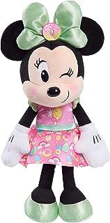 Disney Junior Minnie Mouse 8-Inch Small Sweets Minnie Mouse Beanbag Plush, Minnie Mouse In Pink Sweet Treats Dress, Stuffe...