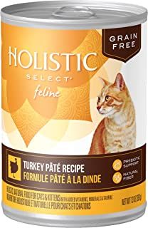 Eagle Pack & Holistic Holistic Select Natural Wet Grain Free Canned Cat Food Turkey Pâté