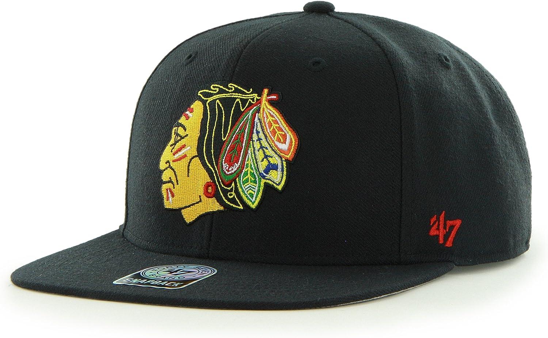 '47 Brand Sure Shot Captain Adjustable Cap 6-P Structured Sale item NHL Max 48% OFF -