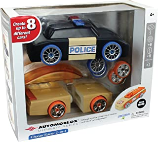 PlayMonster Automoblox Chaser Racer 2-in-1
