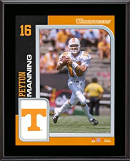 Peyton Manning Tennessee Volunteers 10.5'' x 13'' Sublimated Plaque - College Player Plaques and Collages