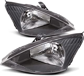 HEADLIGHTSDEPOT Compatible with Ford Focus Headlight OE Style Replacement Halogen Headlamp Driver/Passenger Pair