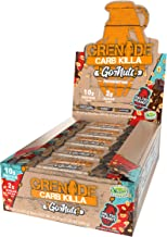 Grenade Carb Killa Go Nuts Vegan Nut Bar | 10g High Protein Snack | Low Net Carb Low Sugar | Non-GMO Gluten Free Energy Bars | Salted Peanut 15 Pack