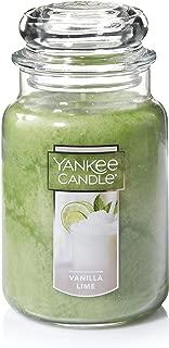 Yankee Candle Large Jar Candle, Vanilla Lime