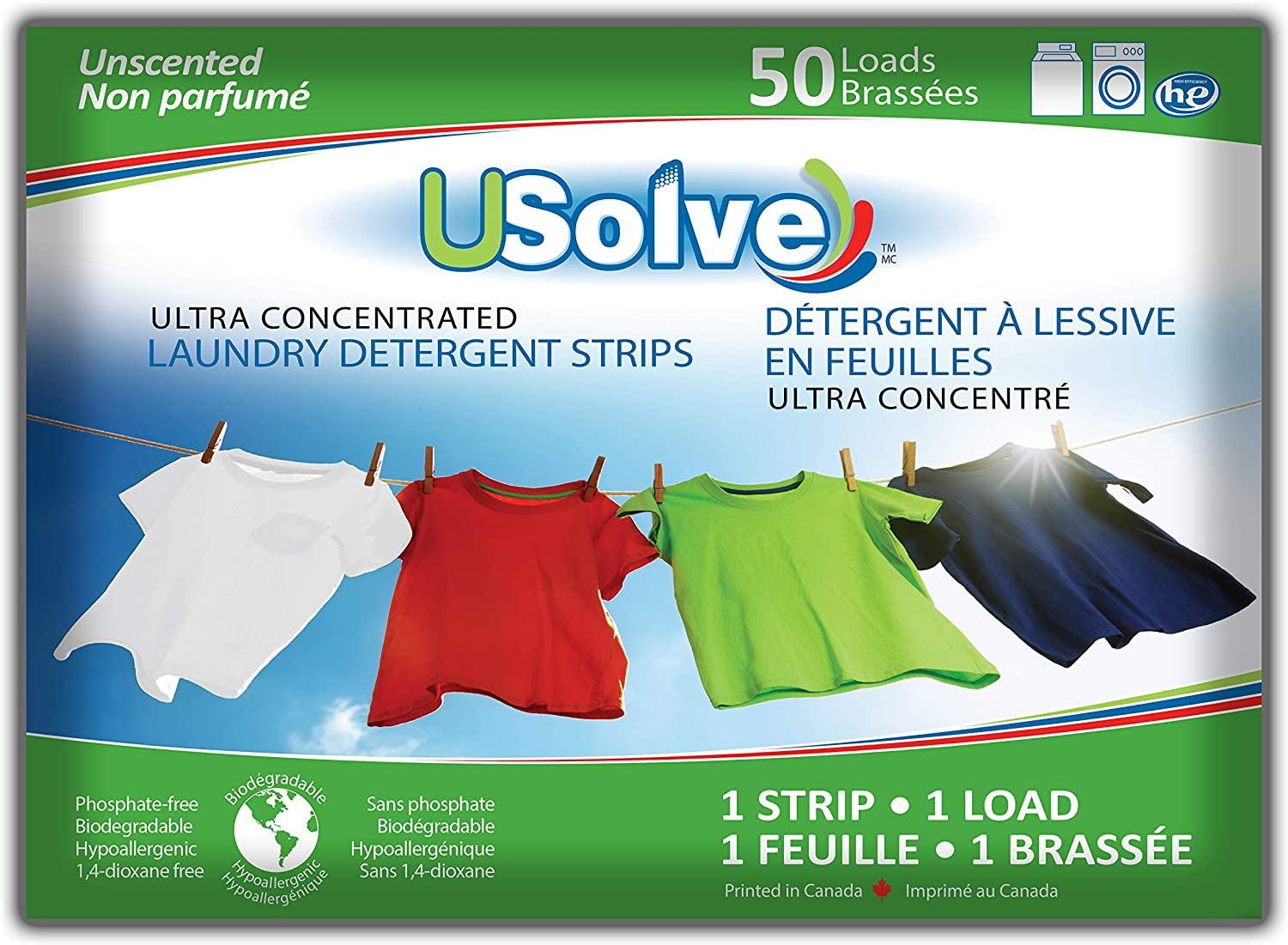 USolve New Eco-Friendly Ultra Detergent Large discharge sale Concentrated Soldering Str Laundry