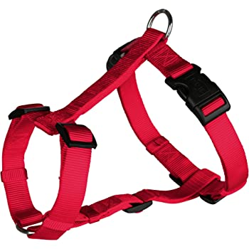 Trixie Classic H-Harness, Medium - Large (Red)