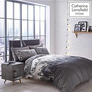 comprar comparacion Catherine Lansfield Landscape City - Juego de cama individual, Multicolor, (incluye una funda nórdica de 135 cm x 200 cm y...