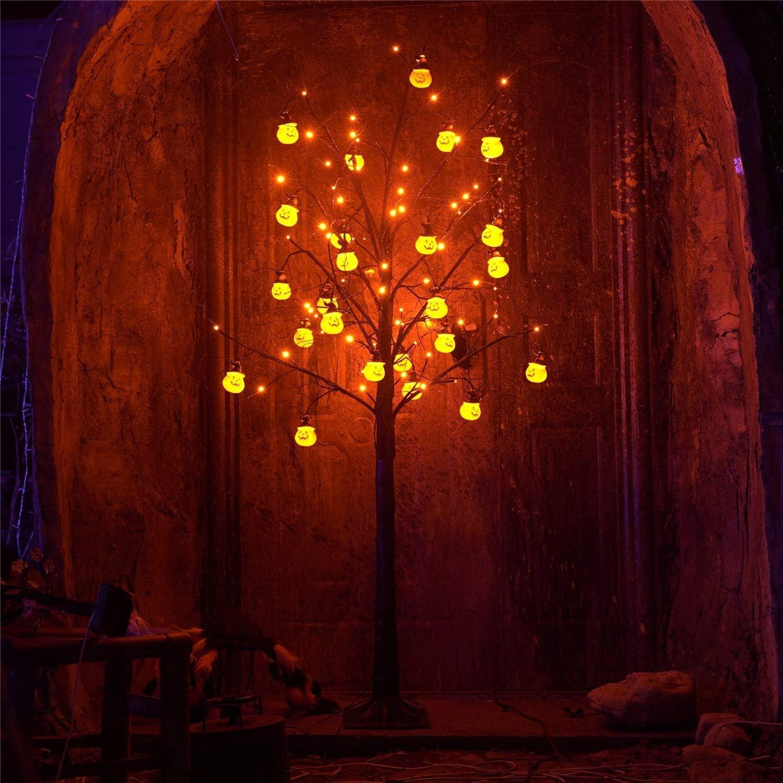 6 Foot Lighted Halloween Tree
