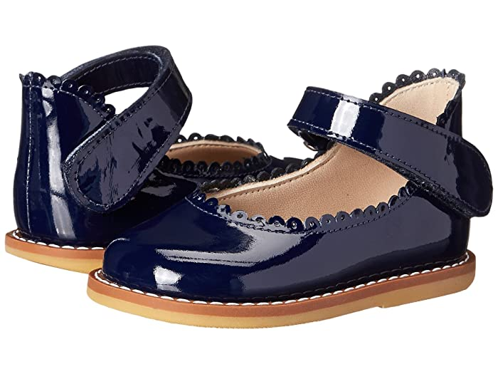 Elephantito  Ballerina (Infant/Toddler) (Patent Navy) Girls Shoes
